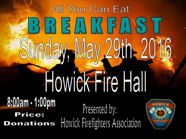 Firefighter's Breakfast