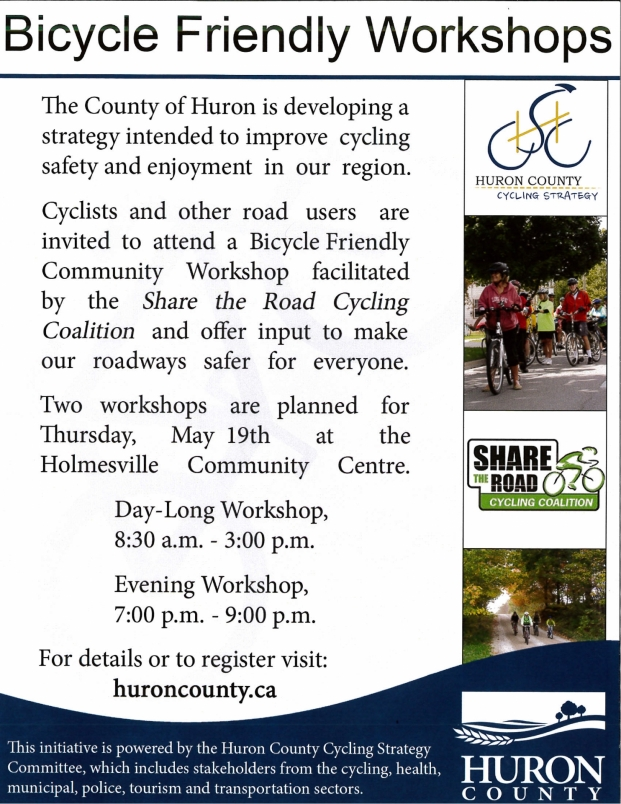 Share the road - bicycle workshop