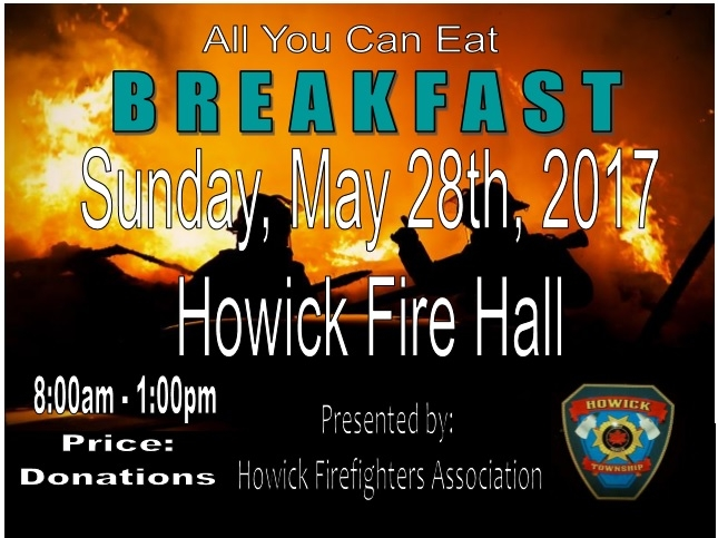 Howick Firefighter's Breakfast