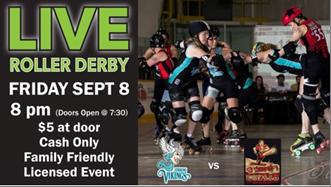 Live Roller Derby September 8