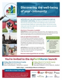 My Perth Huron launch flyer